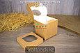 Упаковка для маффинов 100*100*100 1шт DoEco (50/250), фото 4