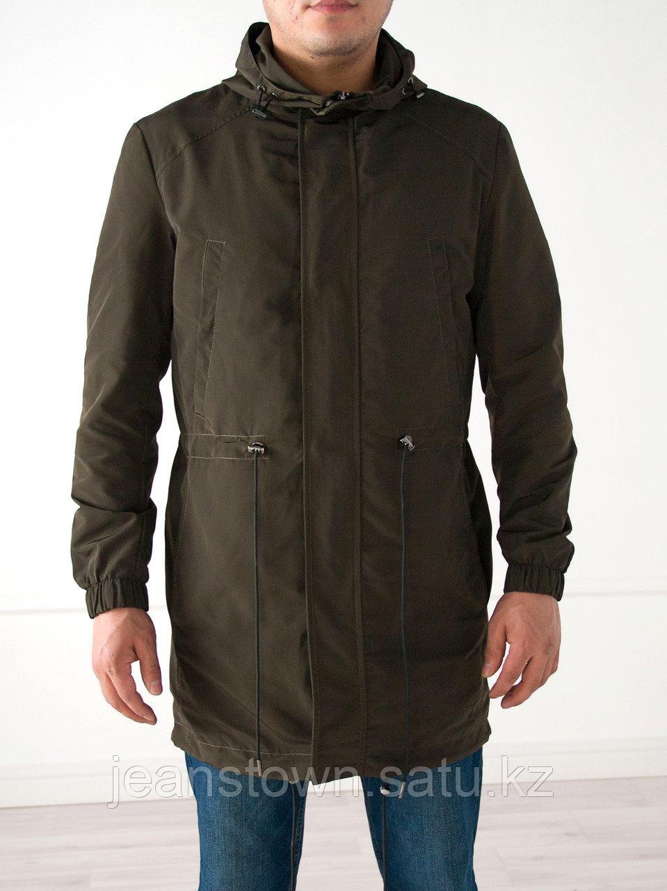Куртка- парка мужская  Vivacana длинная,хаки