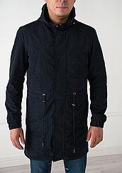 Куртка- парка демисезонная  Vivacana длинная,синяя