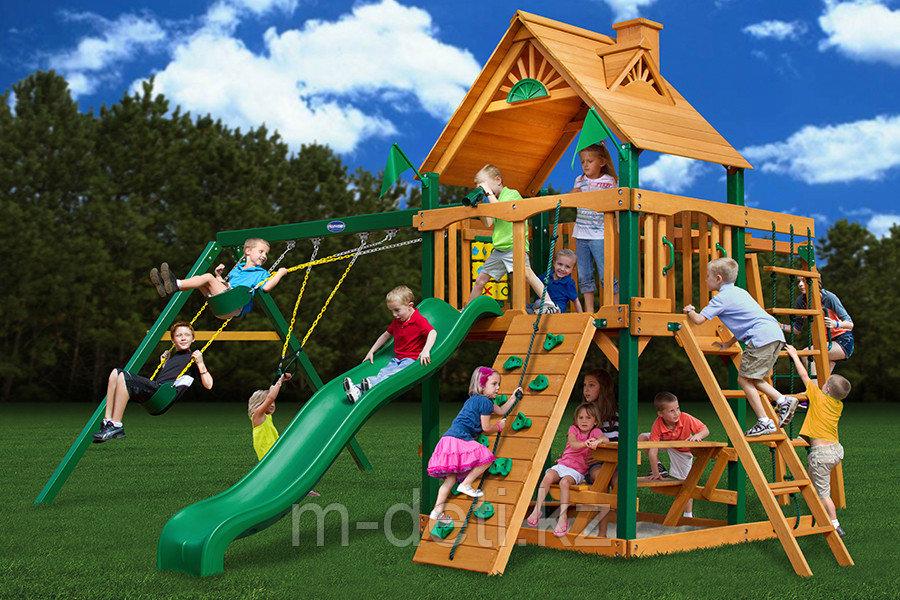 Детский игровой комплекс из дерева - Непоседа