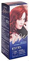 """Крем-краска для волос """"Estel Love"""" (тон: 7/54, пламя)"""