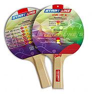 Ракетка для настольного тенниса Level 100 (прямая) 1шт