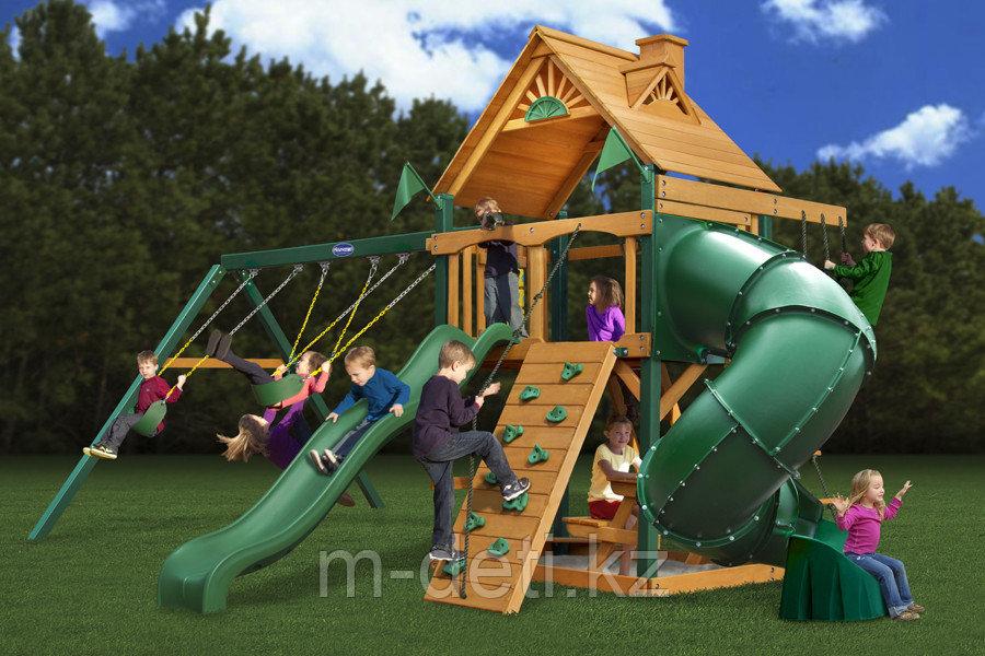Игровой комплекс из дерева - Пионер
