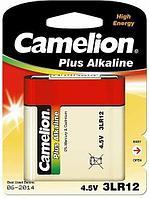 Батарейка Camelion 3LR12-BP1 4,5 В, Упакова: Блистер 1 шт., Аналоги: 3LR12\4.5V\3336\КБС\1203\Рубин\Планета, Т