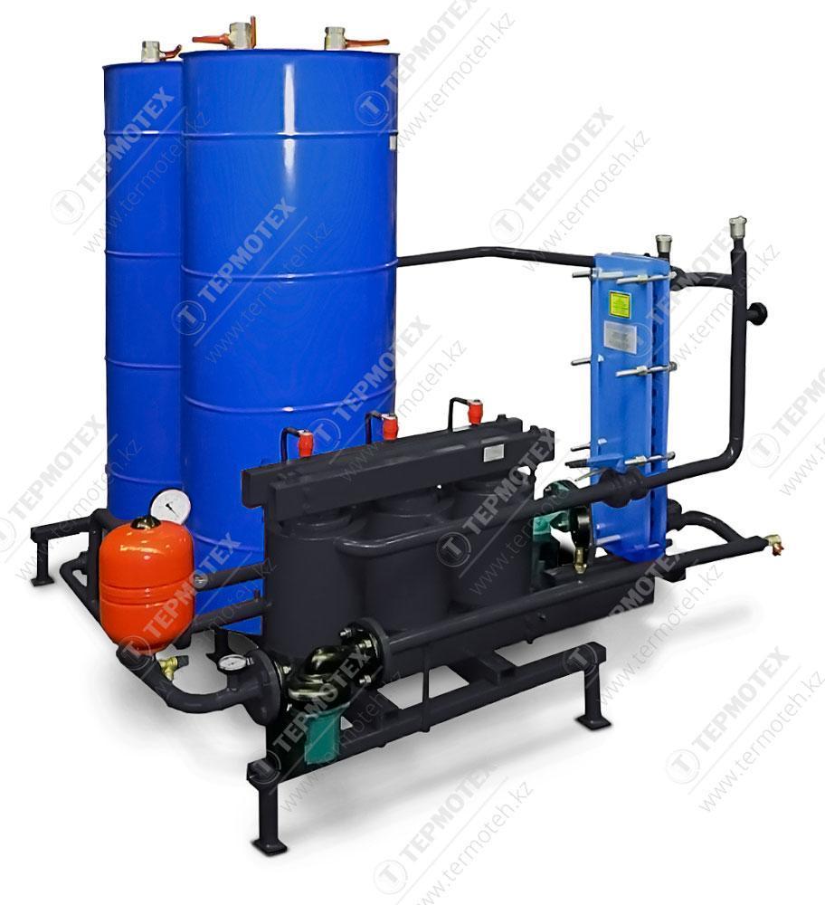 Узел нагрева воды для ГВС с бойлером и аккумуляционной емкостью Терманик ГВС-Б 15