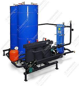 Промышленный электрический водонагреватель с емкостью и бойлером Терманик ГВС-Б 20