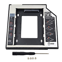 Адаптер для ноутбука V-T Optibay DVD to HDD/SSD (Optibay 9,5mm), фото 1