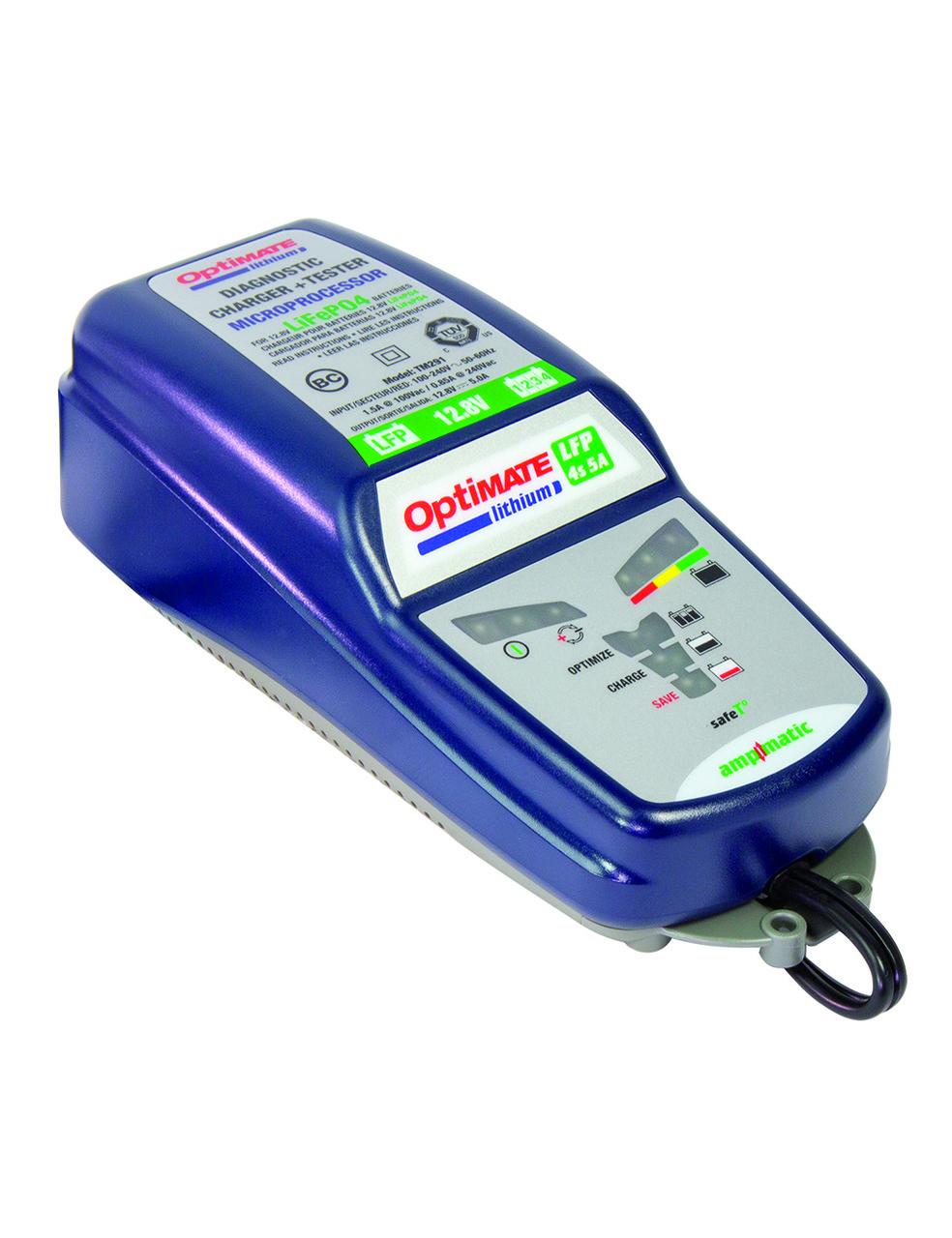 Зарядное устройство Optimate Lithium TM290 (0.4A– 5.0А, 12В)