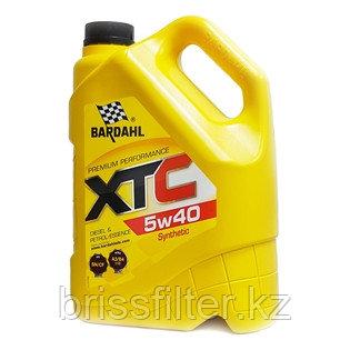 Синтетическое масло BARDAHL XТC 5w40 5л