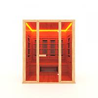 Инфракрасная сауна 3-м.1,8*1,05*2 м. / прямая, фото 1