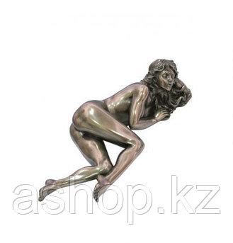 Статуэтка декоративная Veronese Design Artistic Nudes WU75253А1, Высота: 60 мм, Материал: Полистоун, Цвет: Бро