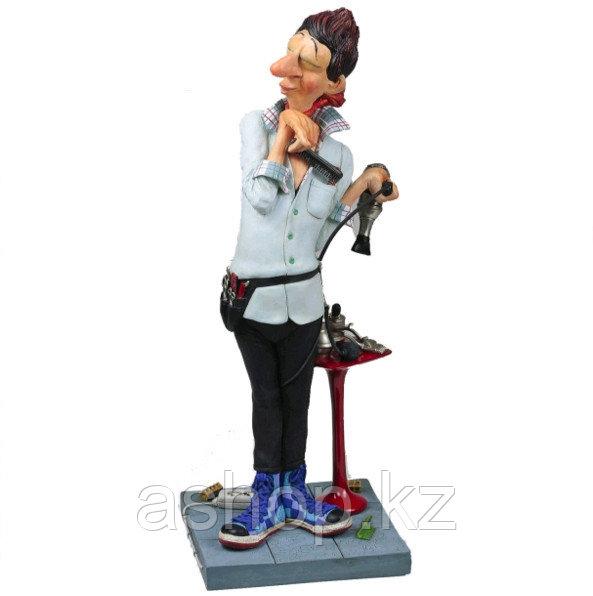 Статуэтка декоративная Forchino Парикмахер, Высота: 440 мм, Материал: Полистоун, Цвет: Разноцветный, (FO85527)
