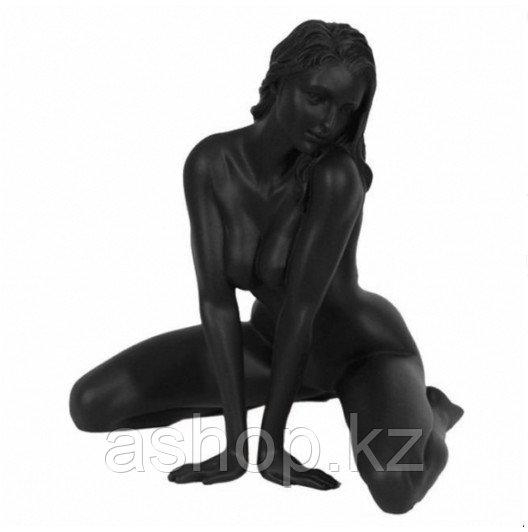 Статуэтка декоративная Veronese Design Artistic Nudes WU75293АА, Высота: 130 мм, Материал: Полистоун, Цвет: Чё
