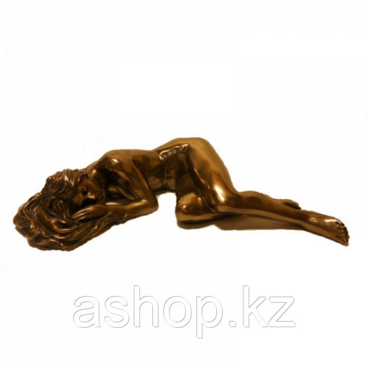 Статуэтка декоративная Veronese Design Artistic Nudes WU75137А1, Высота: 40 мм, Материал: Полистоун, Цвет: Бро