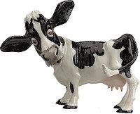 Статуэтка декоративная Arora Корова Эрминтруда, Высота: 185 мм, Материал: Керамистоун, Цвет: Чёрно-белый, (566