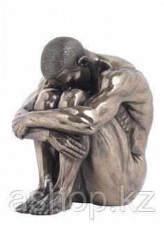 Статуэтка декоративная Veronese Design Artistic Nudes WU74753А1, Высота: 170 мм, Материал: Полистоун, Цвет: Бр