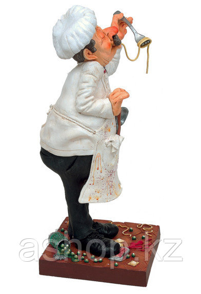 Статуэтка декоративная Forchino Повар маленький, Высота: 210 мм, Материал: Полистоун, Цвет: Разноцветный, (FO8