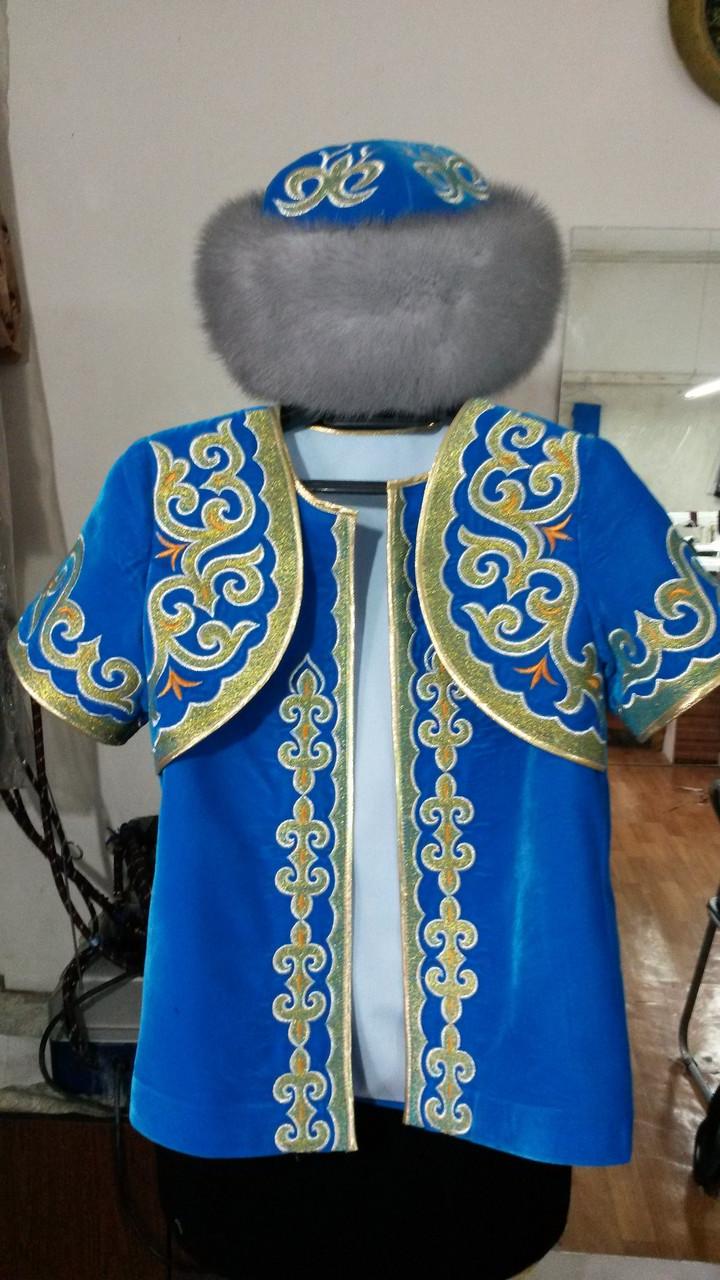 Детская казахская национальная одежда