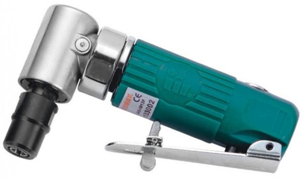 JAG-0913FMK Набор бормашинка пневматическая угловая 18000 об/мин., патрон 3/6 мм, L-124 мм с насадками, 15