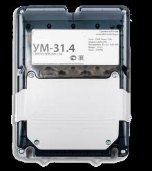 Устройство мониторинга УМ-31 v.4 GSM/GPRS/Ethernet, 1RS232/4CAN/1RS485-32-IP54