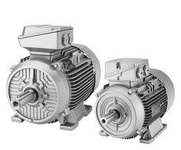 Электродвигатель SIEMENS из алюминия класса IE2 1LE1002-1DA43-4AA4-Z
