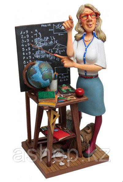 Статуэтка декоративная Forchino Учительница, Высота: 410 мм, Материал: Полистоун, Цвет: Разноцветный, (FO85531