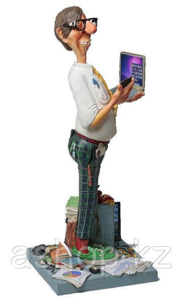 Статуэтка декоративная Forchino Эксперт по компьютерам, Высота: 360 мм, Материал: Полистоун, Цвет: Разноцветны
