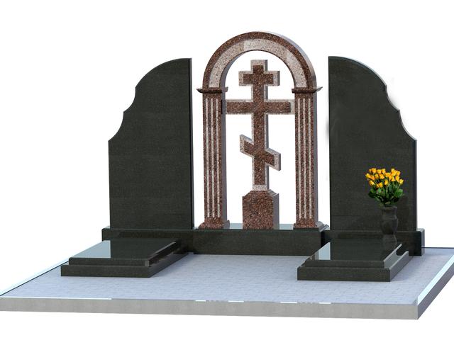 Памятники гранитные на двоих