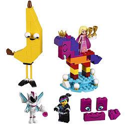 Конструктор Lego Movie 2 70824 Конструктор 2 Познакомьтесь с королевой Многоликой Прекрасной