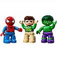 10876 Lego Duplo Супер Герои: Приключения Человека-паука и Халка, Лего Дупло, фото 6
