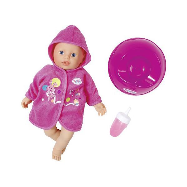 Baby born 823-460 Бэби Борн Кукла быстросохнущая с горшком и бутылочкой, 32 см
