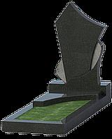 Надгробие из черного гранита ПГ-6
