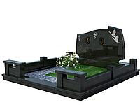 Гранитный комплекс на 2 могилы МКГ7
