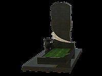 Мемориальный гранитный комплекс на 1 могилу МКГ12