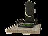 Комплекс гранитный на 1 могилу МКГ14
