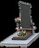 Комплекс из гранита на 1 могилу МКГ21