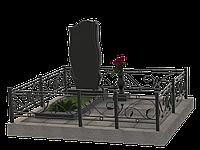 Комплекс мемориальный из гранита на 1 могилу МКГ31