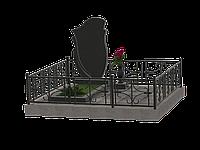 Гранитный комплекс на 1 могилу МКГ34