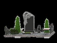 Комплекс мемориальный на 1 могилу МКГ36