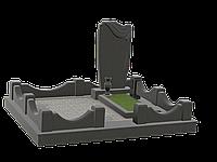 Могильный комплекс на 1 могилу МКГ38