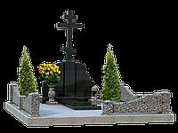Комплекс гранитный на 1 могилу МКГ41