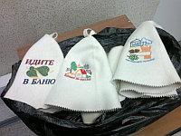 Банные шапочки с ЛЮБОЙ картинкой, фото или надписями в подарок
