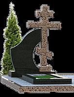 Могильный гранитный крест КГ-6