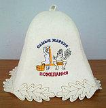 Банные шапочки с ЛЮБОЙ картинкой, фото или надписями в подарок, фото 3