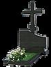 Крест православный из гранита КГ-12
