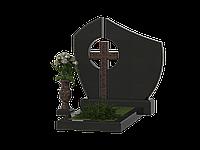 Могильный крест православный из гранита КГ-13