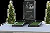 Памятник на двоих из гранита П2М-3