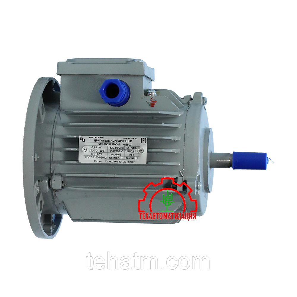 Электродвигатель для обдува трансформаторов АБ63В4ВУ1 0,37 кВт 1320об/мин IM3281