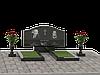 Двойные памятники из гранита П2М-4