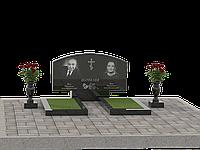 Гранитный памятник на двоих П2М-5
